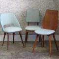 Chaises vintage, années 50